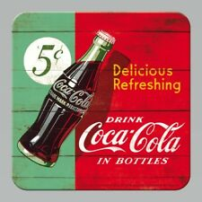 Coca Cola Delicious Refreshing Drink Bottle Bar 3D Drinks Table Coaster