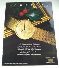 Tourneau World's Finest Timepieces Catalog For Select American Express Customers