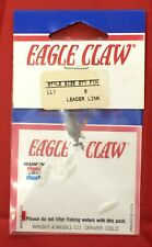 Lot of 10 Packs, Eagle Claw Leader Links, Connects Fly Line to Leader