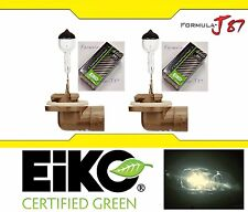 Eiko Precision 881 H27 27W Two Bulbs Fog Light Replace Plug Play Germany Stock