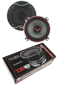 """DS18 EXL 4"""" 2 way Coaxial Door Speakers 520 Watt 3 Ohm Fiber glass Cone 1 Pair"""