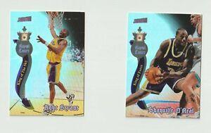 NBA Kobe Bryant Shaq O'Neal Los Angeles Lakers 1997-98 Basketball Card Duo