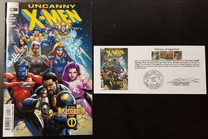 Uncanny X-Men (2019) #1 - 5 +Variant SIGNED Matthew Rachelle Rosenberg Notarized