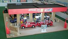 HO Scale Gas Station or Infield Racing Fuel Depot Lighted