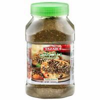 Tazah Jordanian Green Zaatar Thyme Mixture 16 Ounce Jar