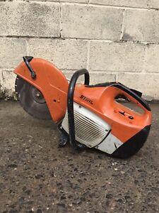 "Stihl Ts 410 petrol 12"" stone saw cut off"
