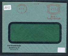 02773) DR meter AFS Hamburg 1931 See Berufsgenossenschaft Krankenkasse