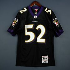 100% Authentic Ray Lewis Mitchell & Ness 2004 Ravens NFL Jersey Size 40 M Mens