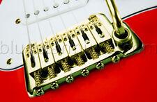 LR Baggs X-Bridge U.S. Standard Stratocaster Guitar Piezo Bridge Pickup, GOLD
