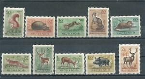HUNGARY - 1953 Airmail - Animals (MNH)