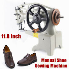 11.8Inch Manual Shoe Sewing Machine Leather Repair Stitching Equipment Head Only
