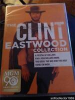 Clint Eastwood Collection (DVD, 2014, 4-Disc Set)