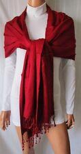 ***SCIARPA PASHMINA STOLA Colore Bordeaux-Granata  Cod. AS