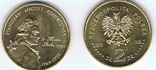 Stanislaw August Poniatowski 2005 2 Zl Muenze Nordic Gold Bfr,