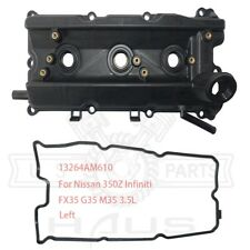 For Nissan 350Z Infiniti FX35 G35 M35 3.5L Engine Valve Cover + Gasket Left