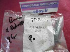 BOULON D ECHAPPEMENT NEUF ORIGINE HONDA NSR 125 / 1990 REF.90140-KR1-760
