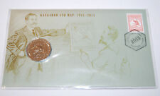 2013 50 cent coin Kangaroo & Map on Card PNG unc