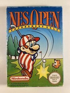 NES Open Tournament Golf Boxed NES GC PAL