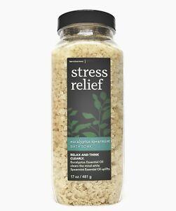 1 Bath & Body Works EUCALYPTUS SPEARMINT Bath Soak AROMATHERAPY STRESS RELIEF