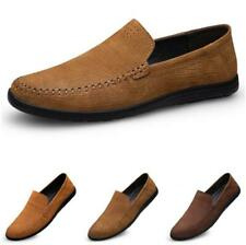 Men Business Leisure Shoes Driving Moccasins Pumps Slip on Loafers Work Casual L