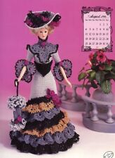 Miss August 1996 Edwardian Lady Outfit for Barbie Doll Annie's Crochet Pattern