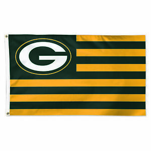 Green Bay Packers Americana 3' x 5' Deluxe Flag