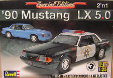 REVELL 1:25 SCALE 1990 FORD MUSTANG LX 5.0 2n1 PLASTIC MODEL CAR KIT