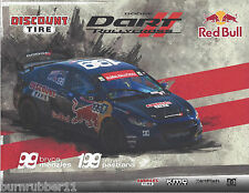 2013 TRAVIS PASTRANA #199 RED BULL DISCOUNT TIRE NON NASCAR RALLYCROSS POSTCARD