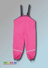 Playshoes Fleece-trägerhose Pink Größe 128