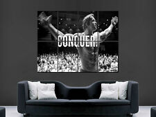 ARNOLD SCHWARZENEGGER POSTER GYM CONQUER BODYBUILDING ART WALL LARGE IMAGE
