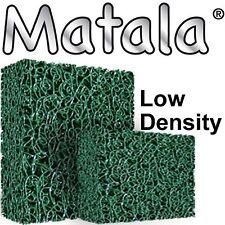 """GREEN MATALA POND FILTER GREEN FILTER MAT 24"""" x 39"""" x 1.5"""""""
