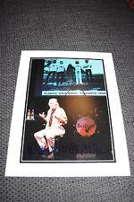 Beatles Klaus voormann signed autographe sur 20x25 cm photo inperson Look