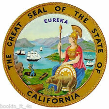 ***CALIFORNIA STATE SEAL VINYL  DECAL / STICKER****