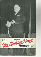 The Linking Ring Magazine Magic Lot of 16 Issues 1940s-1960s Magicians