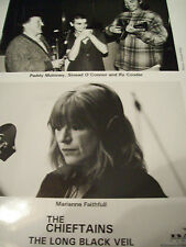 Sinead OConnor Ry Cooder Marianne Faithfull  The Chieftains Publicity Photo