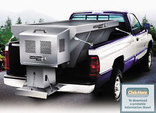 BUYERS SALT DOGG Commercial Spreader 1400300SS  2 cu. yd. GAS POWERED NEW