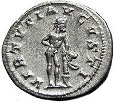 "GORDIAN III 241AD Rome Ancient Silver Roman  Coin ""Farnese"" Hercules i59001"