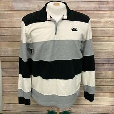 Canterbury of New Zealand Rugby Shirt Pullover Large Played in Heaven
