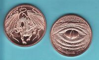 BIT COIN CRYPTO CURRENCY  1 oz Copper Round  DECENTRALIZED SERIES from  GSM