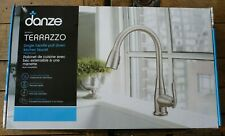 Danze 063-3351-6 Single Handle Pull-Down Kitchen Faucet - Stainless Steel