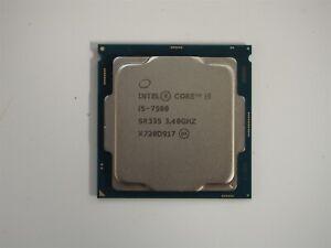 Intel Core i5-7500 3.40GHz Quad Core 7th Gen CPU SR335