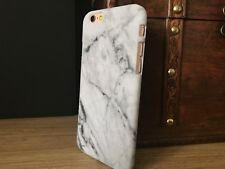 Apple iPhone 6 & 6S Case Marble Effect High Impact Shell With Screen Protector