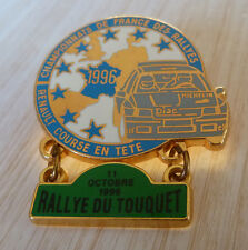 PIN'S RALLYE DU TOUQUET TEAM DIAC MICHELIN RENAULT CLIO WILLIAMS FRANCE 1996
