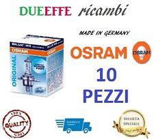 LAMPADINE OSRAM H4 64193 (10 PEZZI) 12V 60/55W LAMPADINA ANABBAGLIANTE FARI