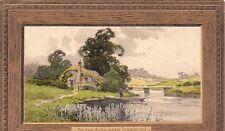 Postcard - Stratford - On the Avon nr. Stratford