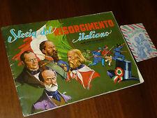 ALBUM FIGURINE STORIA DEL RISORGIMENTO Ed. IMPERIA 1973 NON COMPLETO - OTTIMO !!