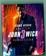 John Wick Chapter 3 Parabellum Blu-ray /dvd/digital new sealed with slipcase