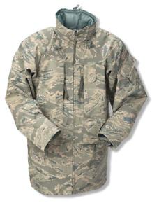 ECWCS ABU Goretex Parka Cold Weather APECS Parka Air Force Tiger Stripe