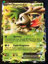 Carte Pokemon SHAYMIN 5/99 Holo N&B Destinées Futures Française NEUF