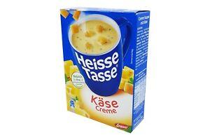 12x Erasco Heisse Tasse 🍲 Käse Creme creamy cheese soup ✈TRACKED